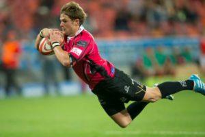 Justin van Staden scores