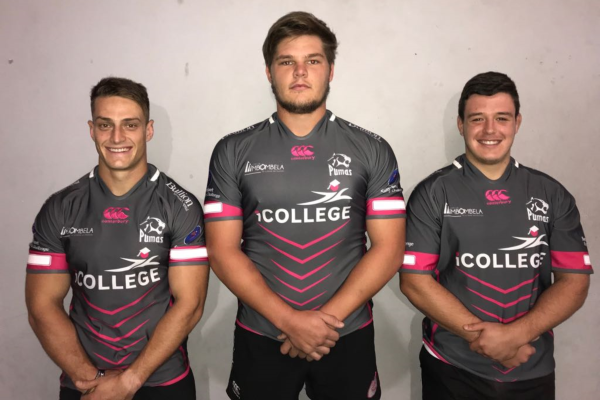 Pumas debuts three youngsters